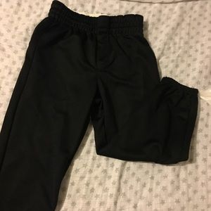 Boys small draw string athletic pants